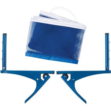 Viper Table Tennis Net And Post Set, Silver