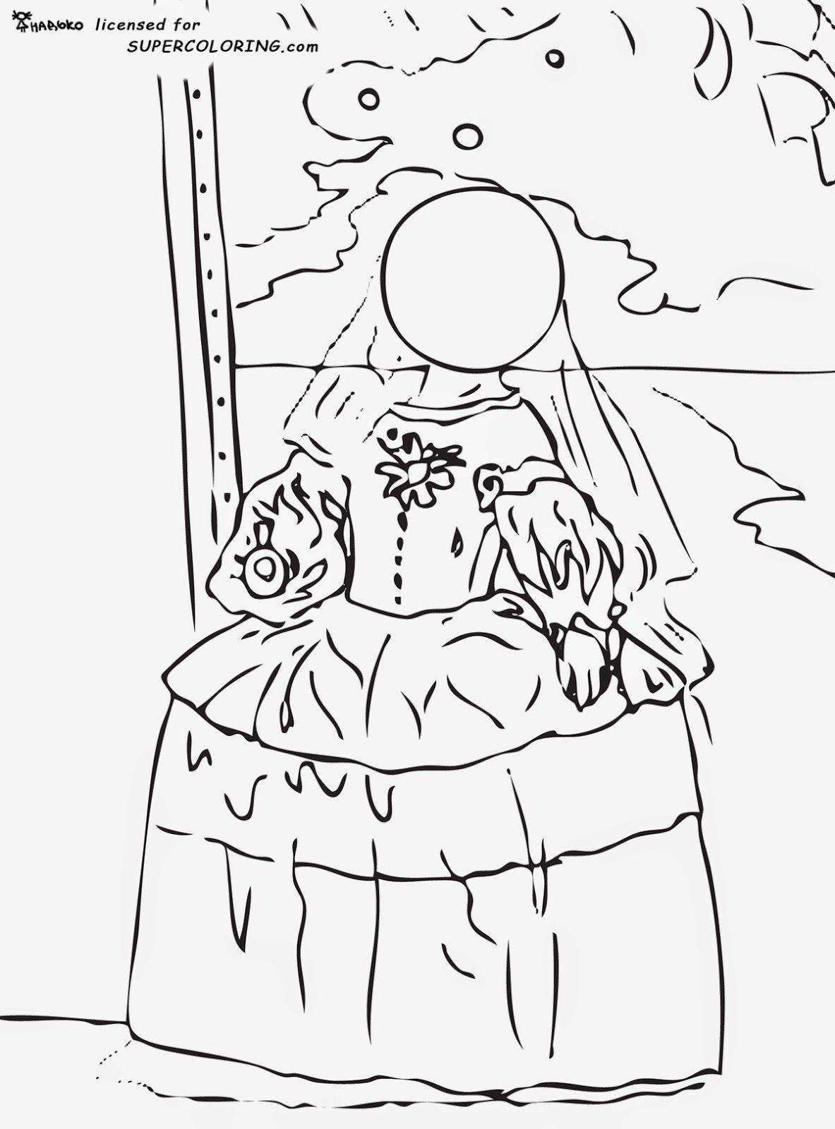 La Perla De Dali Para Colorear Pinturas De Dali Dali Paginas Para Colorear
