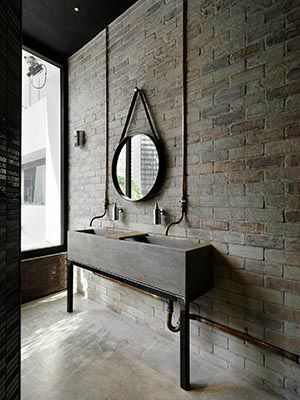 Exceptionnel Vintage Industrial Bathroom Design 4 Donu0027t Forget To Check Out  Www.materialist.