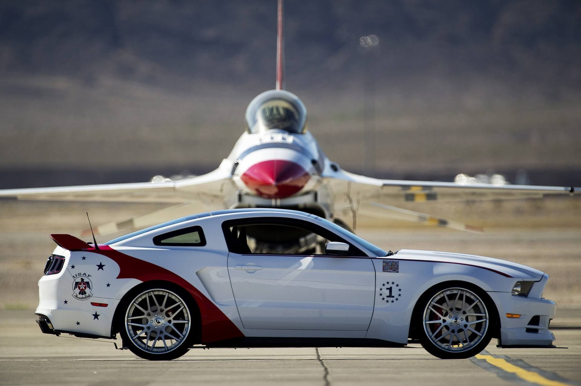 Thunderbirds Ford Mustang Cars Pinterest