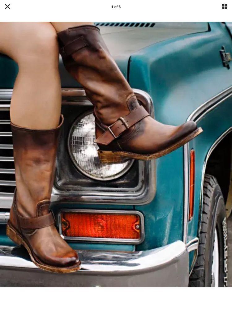 Biker Boots Women