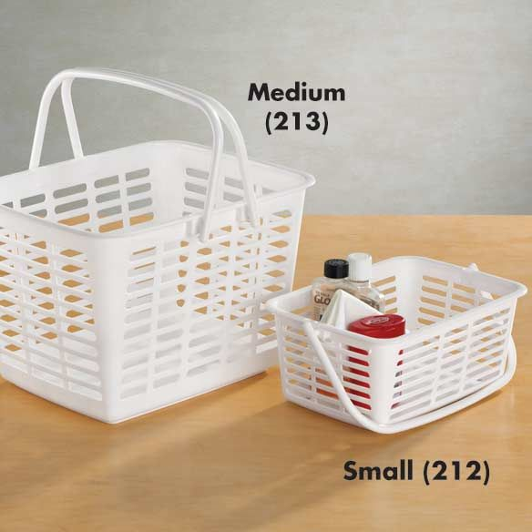 Tote Baskets Carry All Containers Are Great For Carrying Bathroom Items To Dorm Showers Or Used Anything You Want Keep Together And Transport