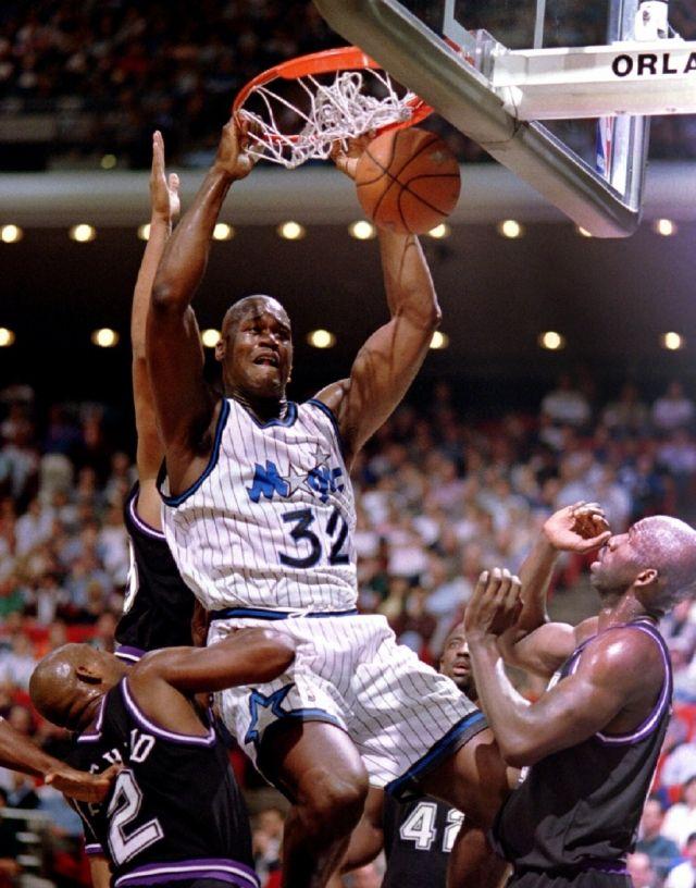 e6d38c9d04e6 Shaquille O Neal Orlando Magic Sacramento Kings Mitch Richmond Olden  Polynice Walt Williams