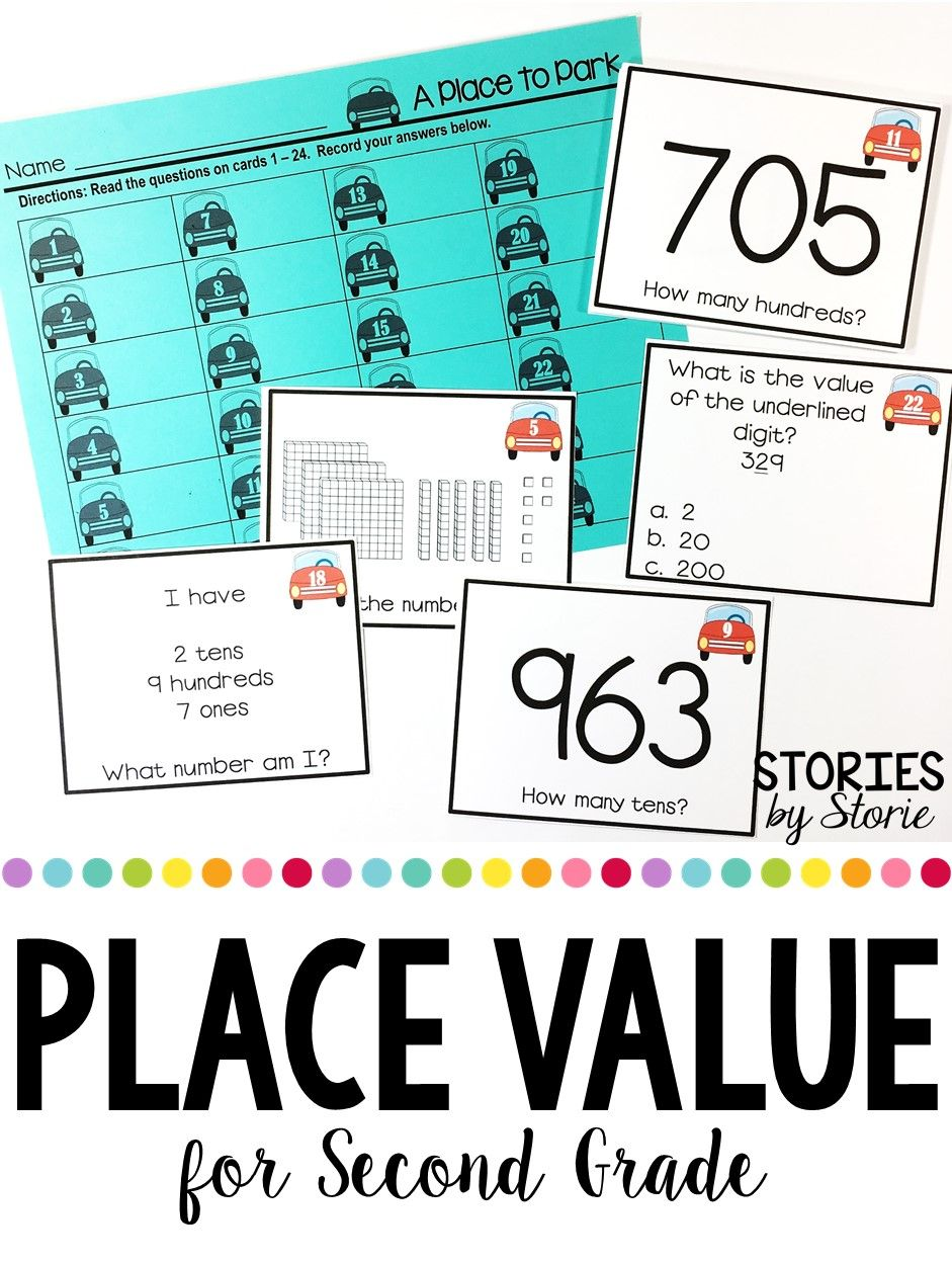 Place Value Centers, Games & Practice Pages | Pinterest | Students ...