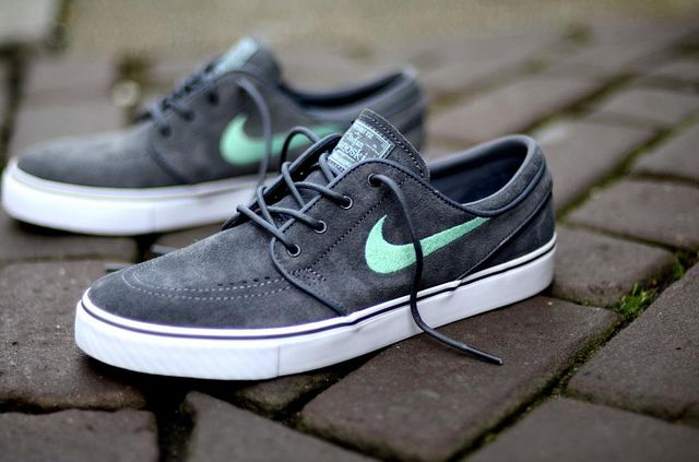 Nike SB Janoski Grey Mint #sneaker for