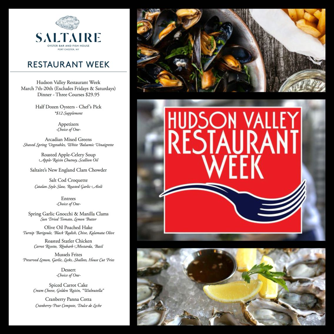 Hudson Valley Restaurant Week Catch It While You Can