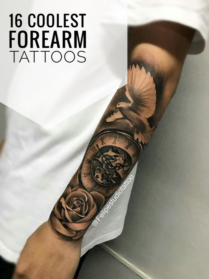 16 Coolest Forearm Tattoos For Men Cool Forearm Tattoos Forearm Tattoo Men Tattoos For Guys