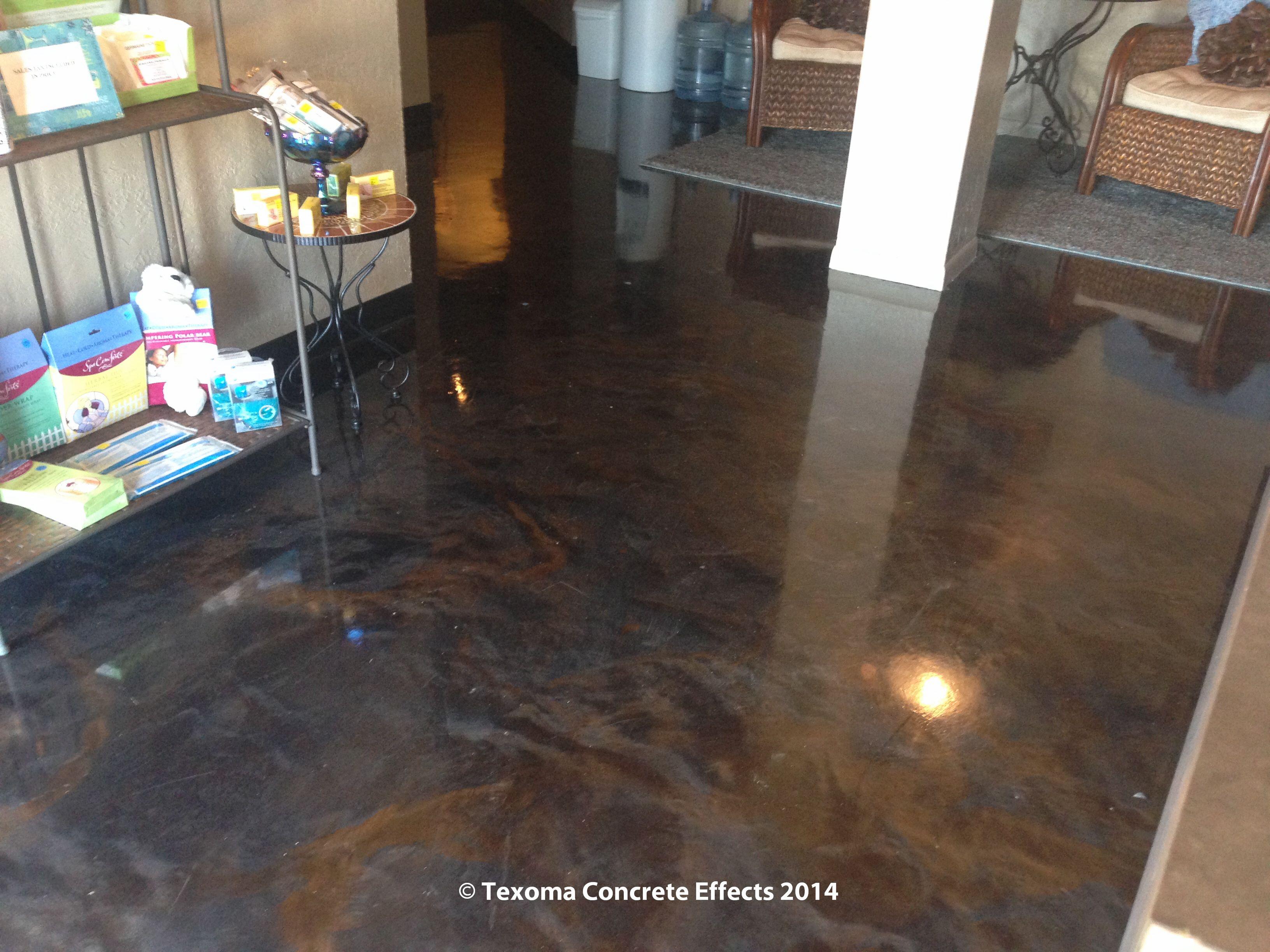 Luxury Epoxy Basement Floor