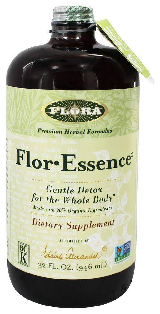 Flor Essence Herbal Tea Blend Liquid - 32 fl  oz Flora