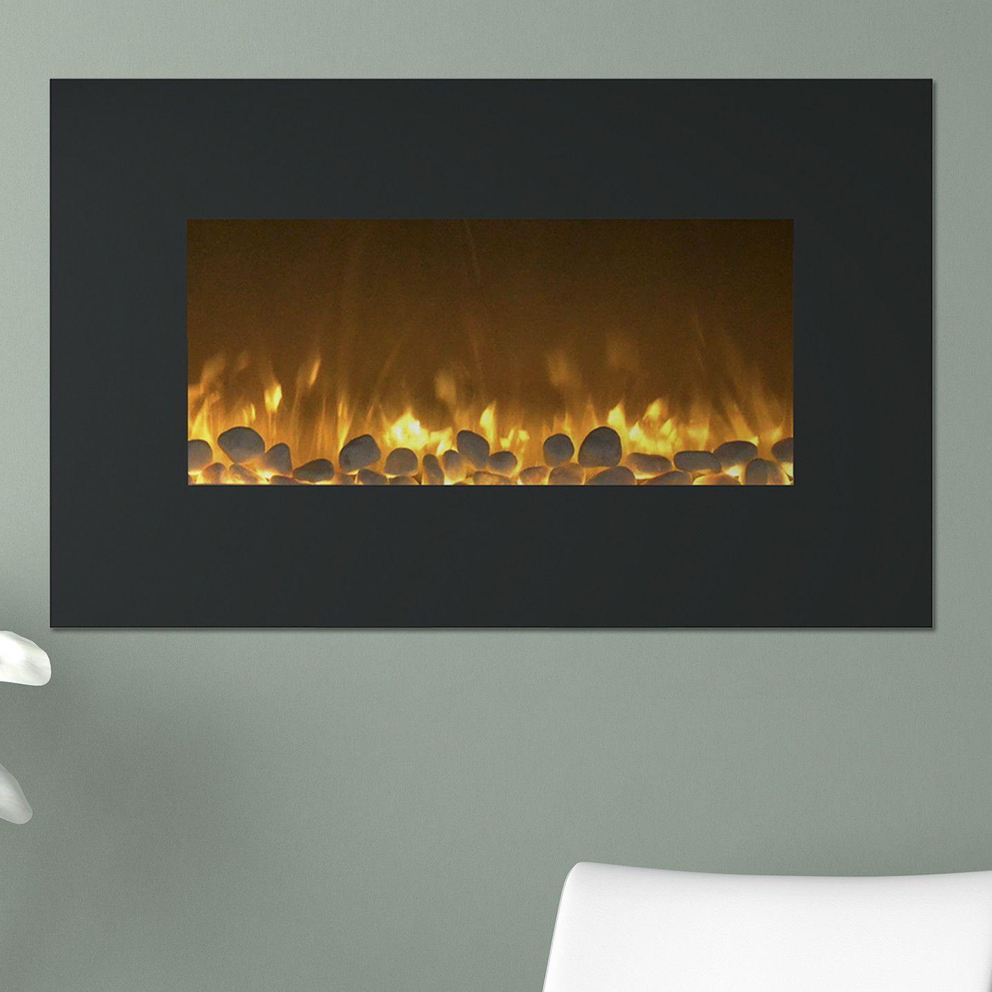 flat wall mounted electric fireplace wall mount electric fireplace