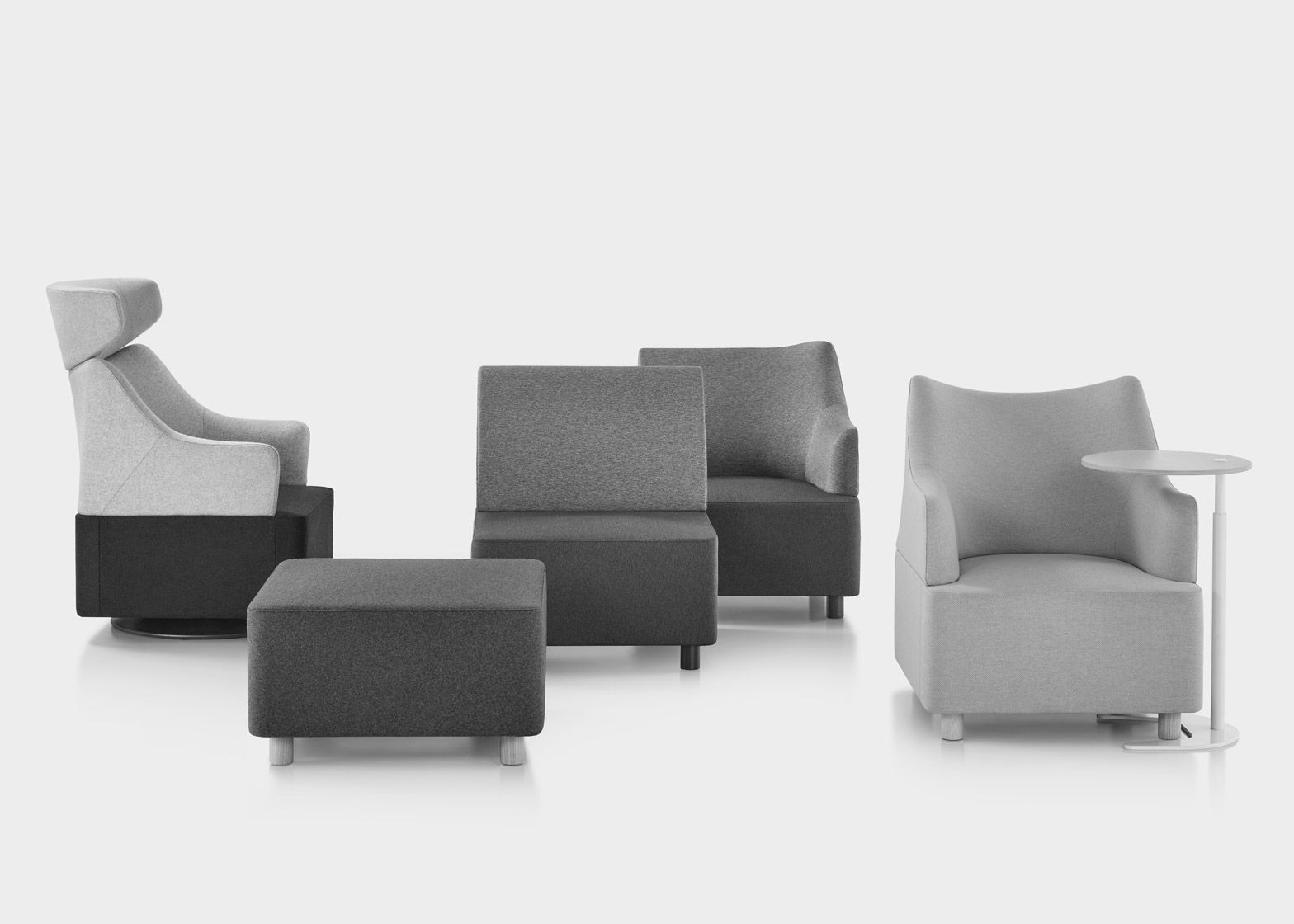 Herman Miller Launch Plex Modular Seating By Industrial Facility