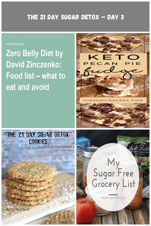 zero belly diet food list