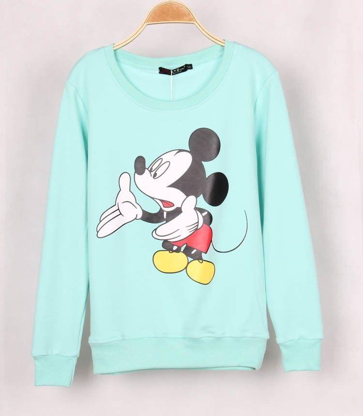 Moletom Estampa Mickey Mouse  a7e7185ec0d
