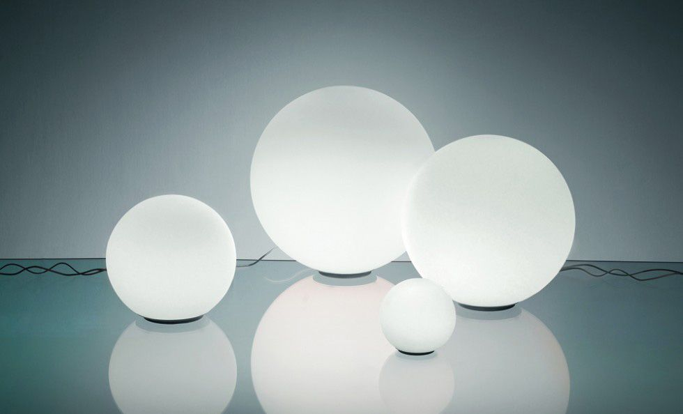 Lampada dioscuri 14 artemide luci lampade tavolo e tavolo design