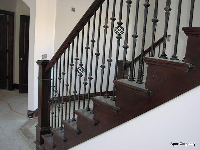 Iron · Metal Stair Railings ...