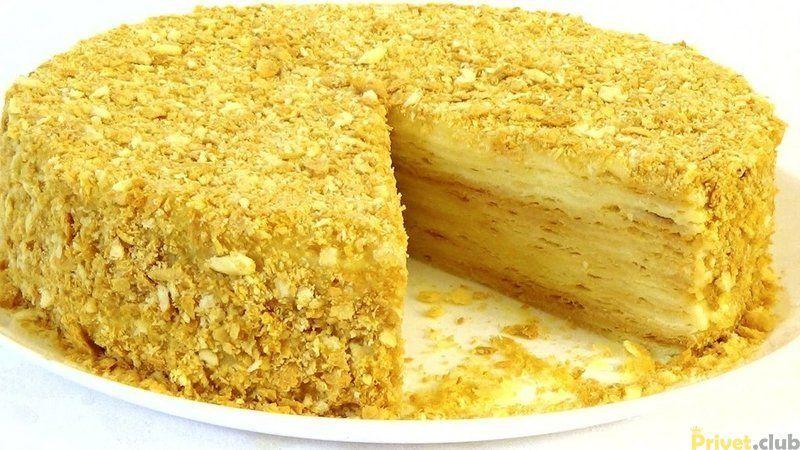 рецепт вкусного торта наполеон