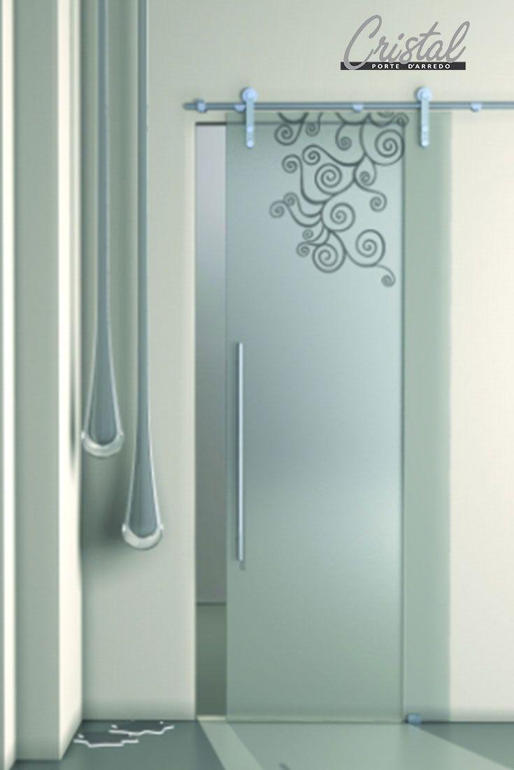 elegante e dal design contemporaneo a¨ la porta chinnok di cristal