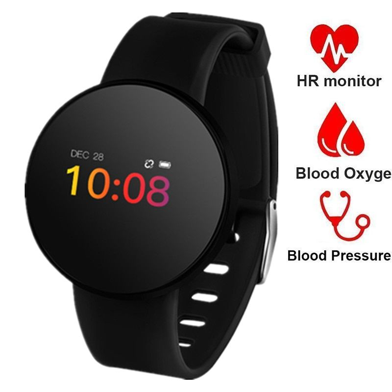 Men's Watches Digital Watches Boamigo Smartwatch For Android Ios Phone Smart Bracelet Heart Rate Calorie Reminder Chronograph Men Sports Watch Smartwatch Discounts Sale
