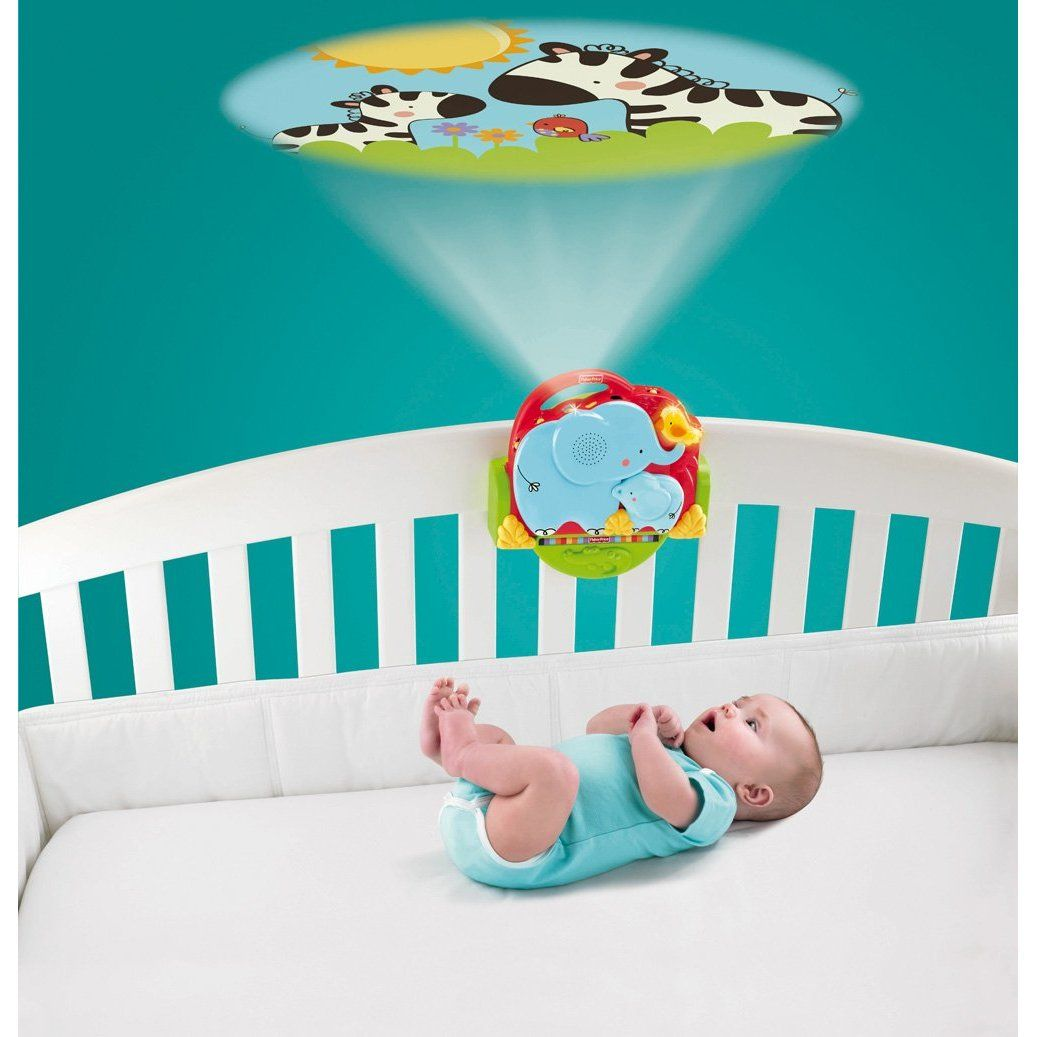 Fisher-Price Luv U Zoo Crib \'N Go Projector Soother $27   Titi\'s boy ...