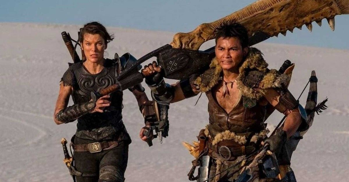 Milla Jovovich S Monster Hunter Movie Based On The Game Gets A First Full Trailer In 2020 Monster Hunter Movie Monster Hunter Milla Jovovich