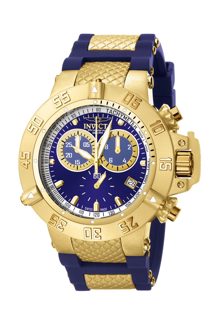 304d65d6cdb Invicta Men s 5515 Subaqua Collection Gold-Tone Chronograph Watch ...