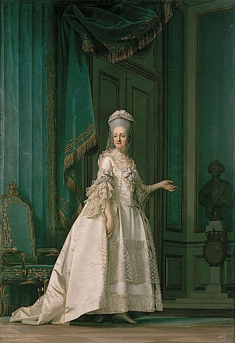 Juliane Marie of Denmark by Vigilius Eriksen, 1778 Denmark Click to see a giant version of it. I really like this because it's such a ...
