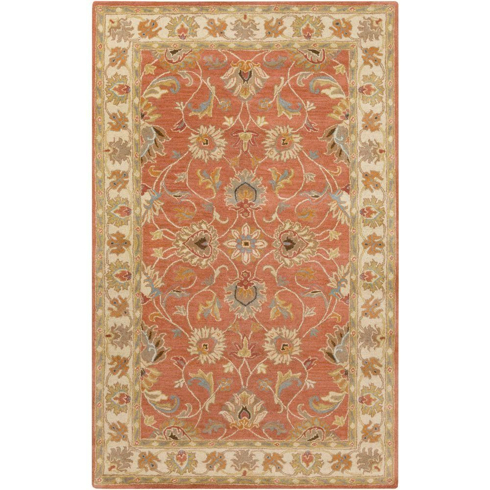 Artistic Weavers John Beige 10 Ft X 14 Ft Area Rug S00151006096 The Home Depot Wool Area Rugs Area Rugs Orange Area Rug