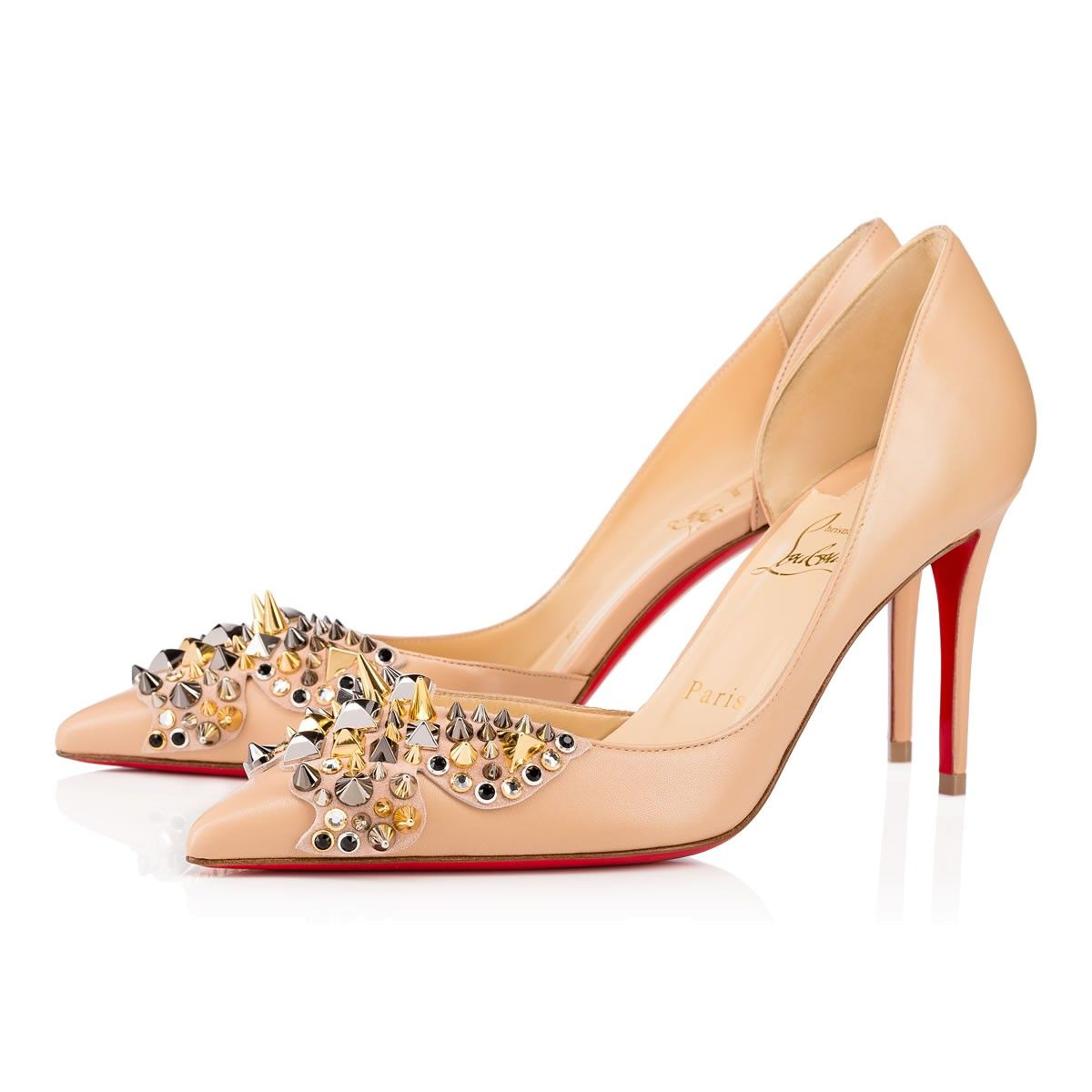 5094aae51e7 CHRISTIAN LOUBOUTIN Farfaclou 85mm Version Doudou Leather.   christianlouboutin  shoes