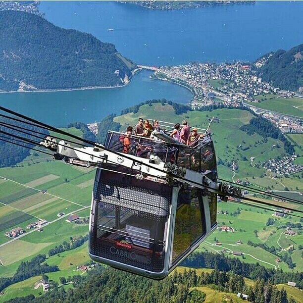 Amazing Places To Stay Switzerland: Stanserhorn, Switzerland