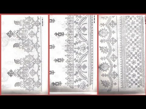 Kutch work embroidery amazing and latest sketch de