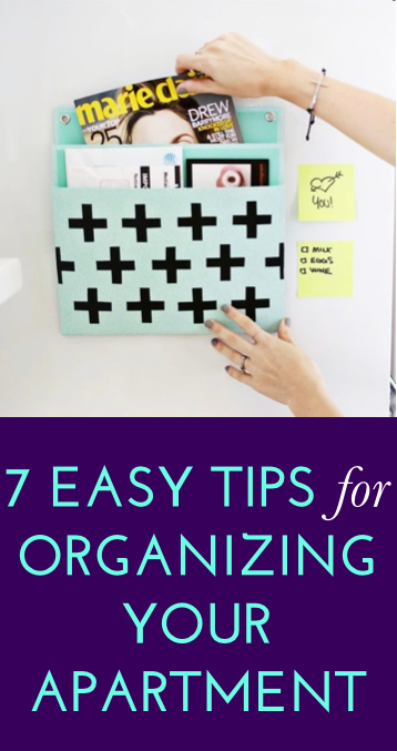 7 Ways To Organize Your Apartment Beautifully Without Boring ...