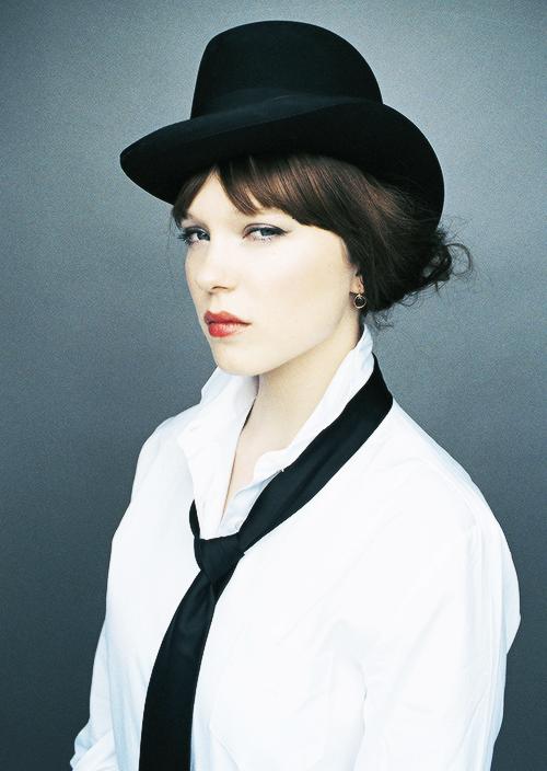Léa Seydoux photographed by Lisa Roze