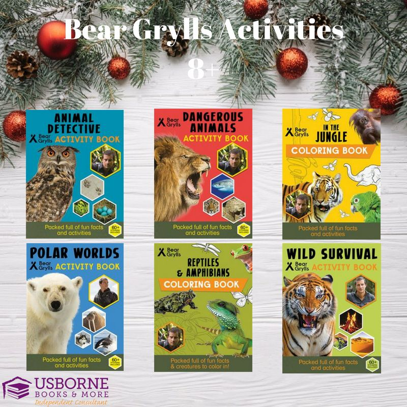Bear Grylls Activity Books Usborne Books Usborne Books