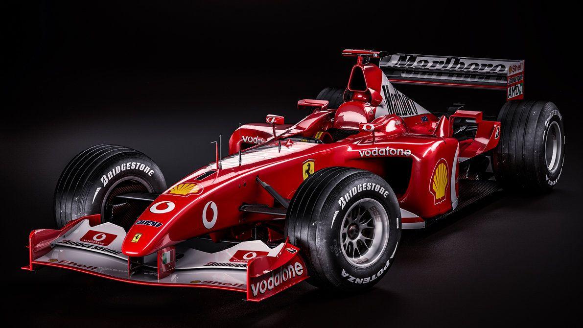 Ferrari F2002 Michael Schumacher By Nancorocks F