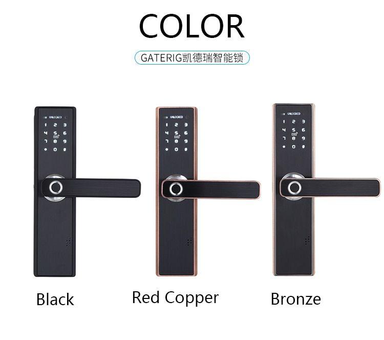 Gaterig smart lock door security intelligent fingerprint