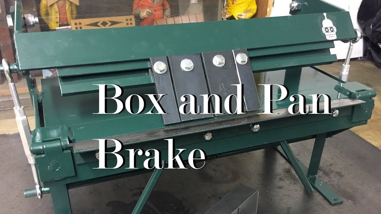 Welded Box And Pan Brake With Images Metal Working Tools Sheet Metal Brake Brake