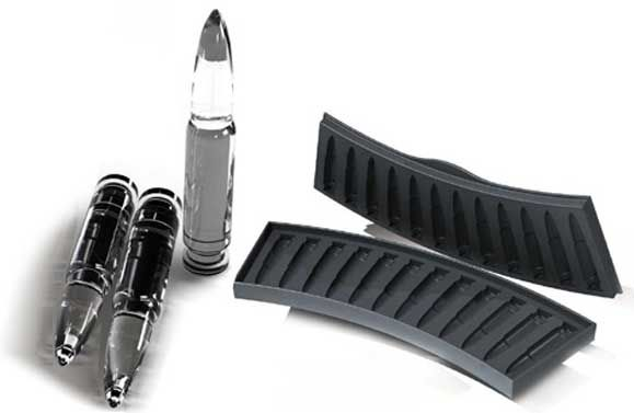 Cool Gadgets for Men Ak-47 bullet ice cube tray