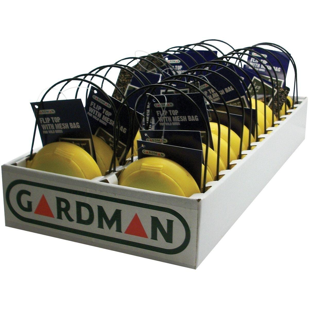 Flip Top Thistle Feeder Bag-Yellow/Black - Yellow/Black