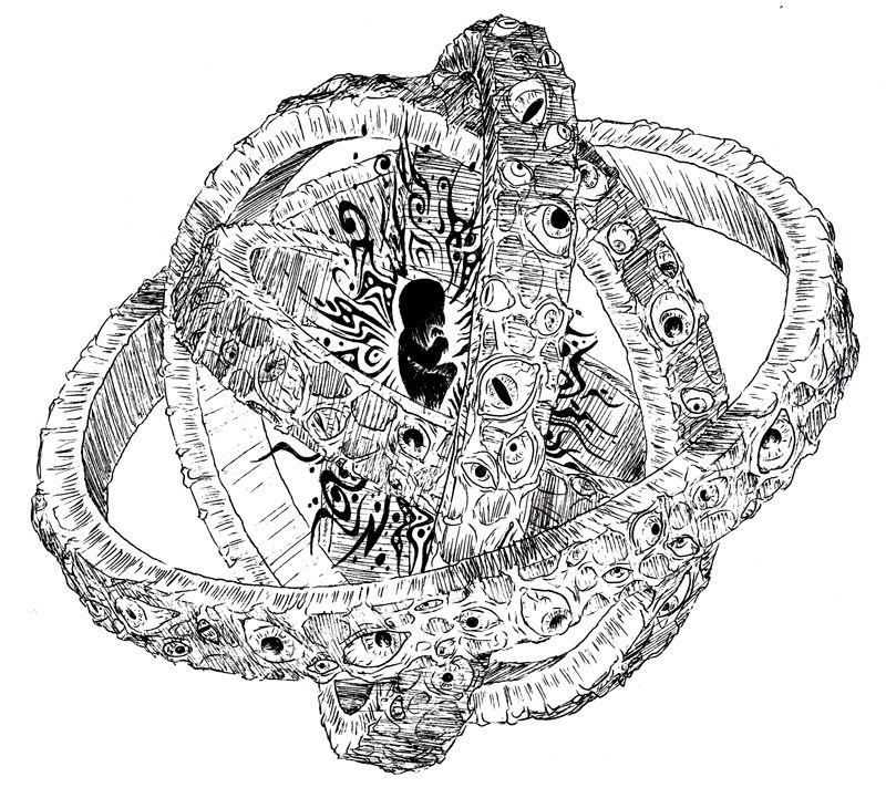 Cherubim Angel with a Personal  Shielded Alcubierre Warp Drive