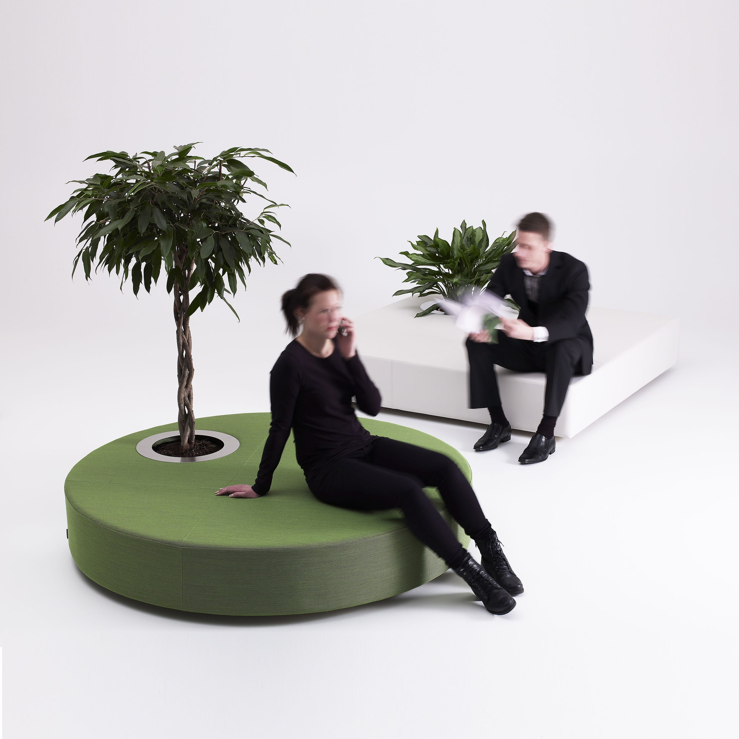 Attractive Green Islands, O2asis U2013 Offecct Great Pictures