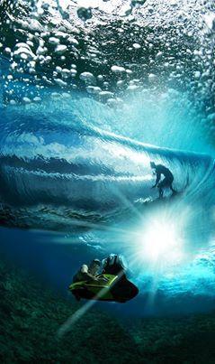 Backstage Barrel #Surf  Photo Cred: Tim McKenna