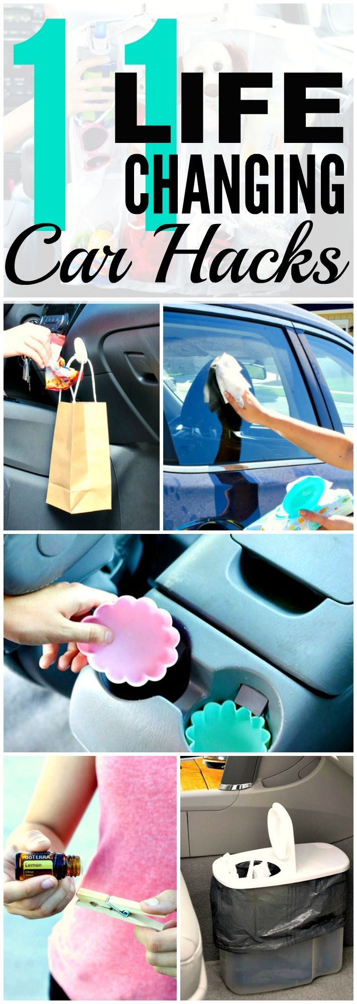 Car Cleaning Hacks You'll Wish You'd Known Sooner These 10 life changing car hack are THE BEST! I'm so happy I found these AWESOME tips! Now I can keep my car clean and organized! Definitely repinning for later!Days Like These  Days Like These may refer to: