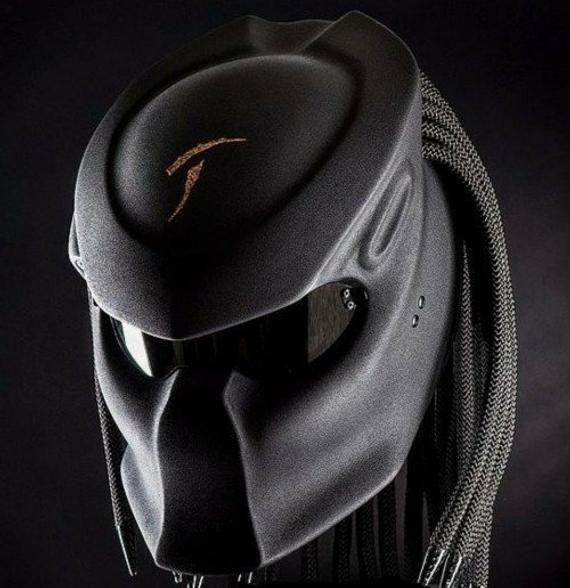 Predator Helmet Motorcycle Custom DOT Approved FULL FACE ...