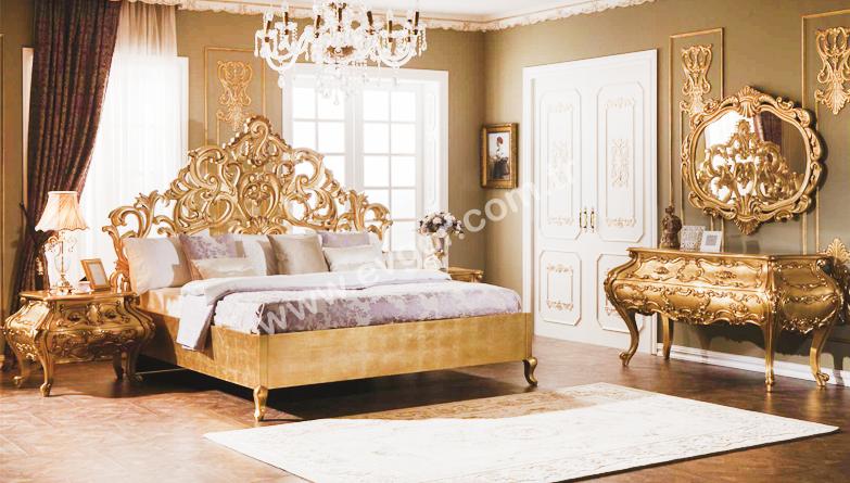 Pozan klasik yatak odas evgor for Mobilya wedding