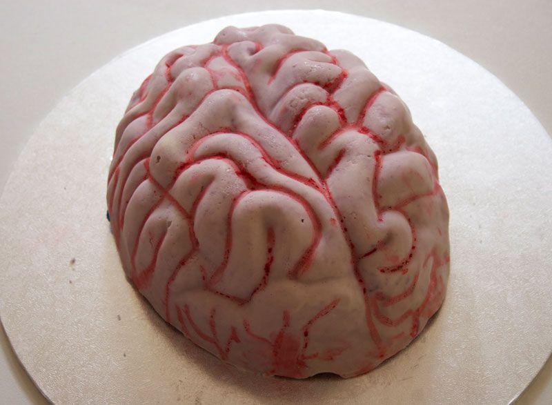 How to make a Brain Smash Cake (also known as a chocolate piñata ...