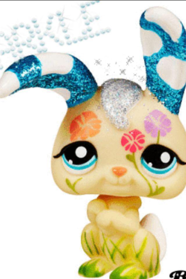 Sparkle Bunny Lps Pets Rare Lps Little Pet Shop