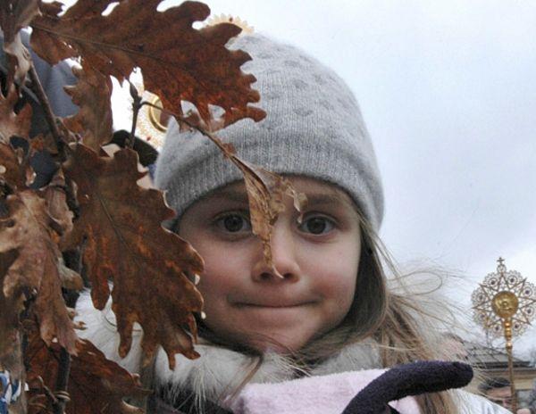 a little Russian girl