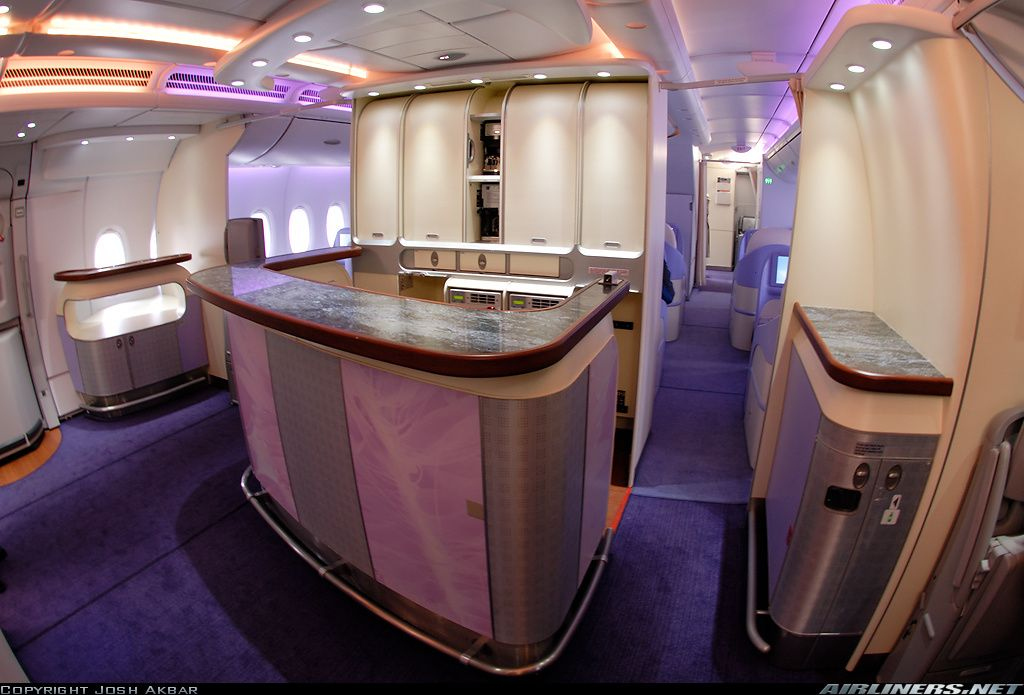 First Class Cabin, Singapore Airlines | Aircraft | Jet