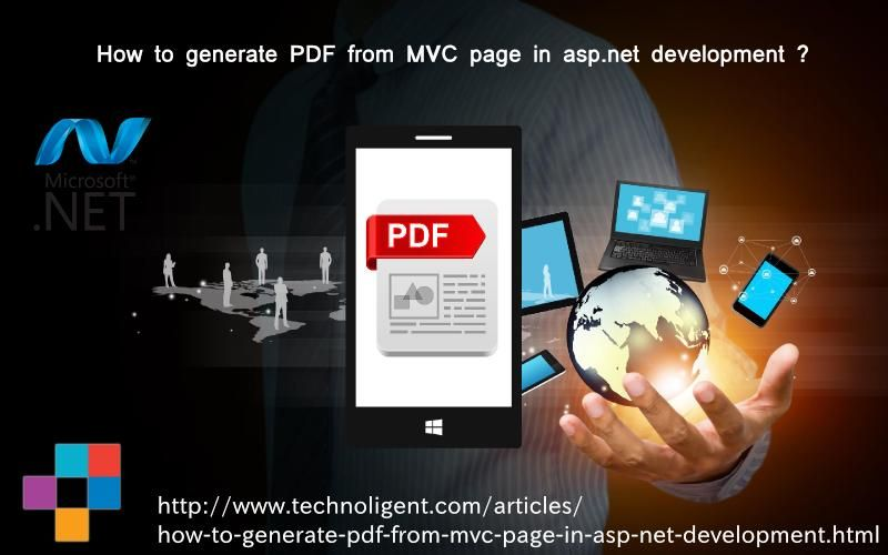 Development process to generate PDF with Rotativa in Asp Net