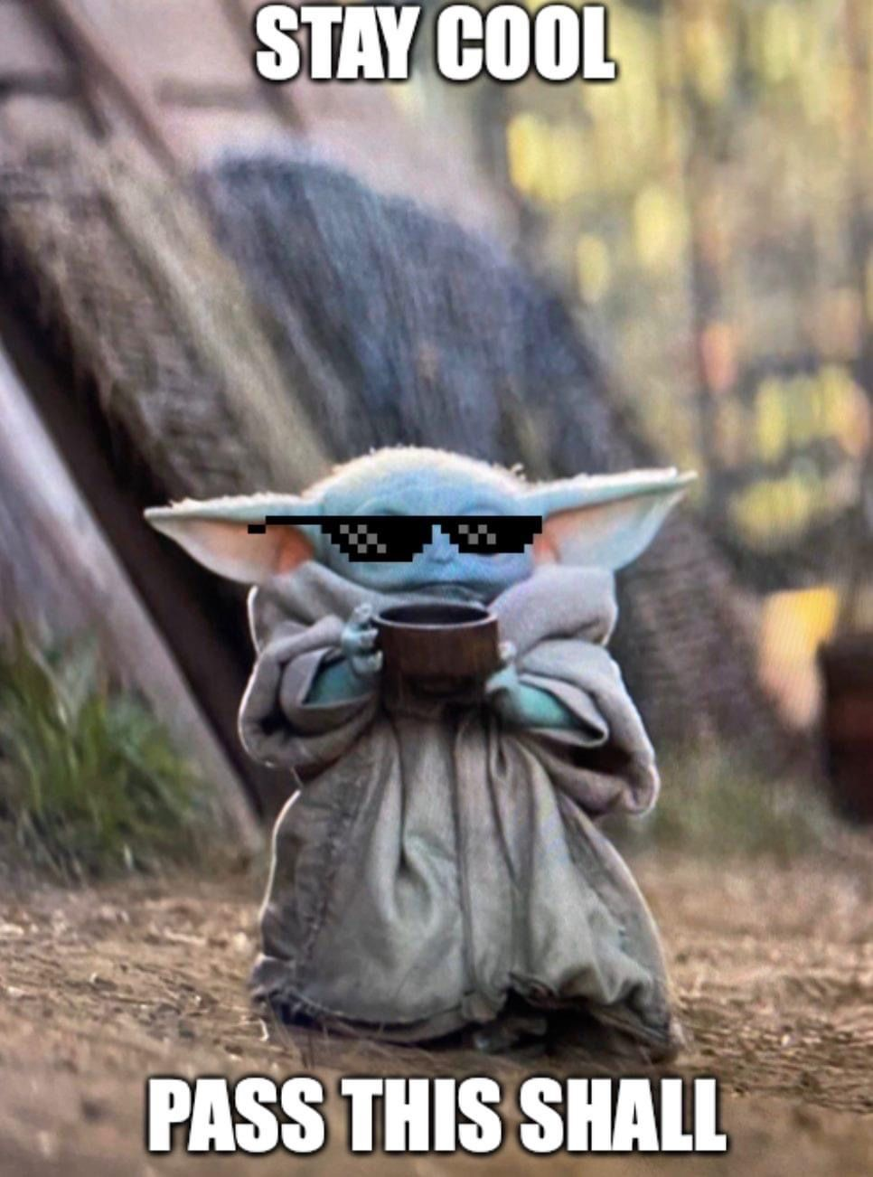 Pin By Maria Staniszewski On Baby Yoda Yoda Images Star Wars Humor Yoda